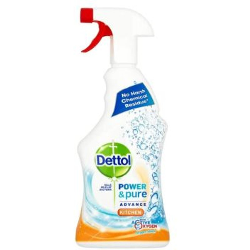 Dettol Power & Pure Advance Kitchen Cleaner 750ml 5011417561751